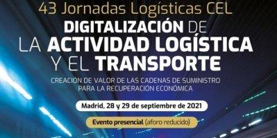 Las Jornadas Logísticas CEL vuelven en formato presencial el 28 y 29 de septiembre
